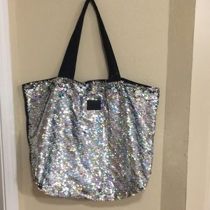 Victoria's Secret PINK Sequin Tote Bag